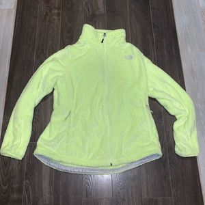 The Northface green fleece